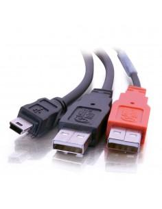 C2G USB Mini-B/USB A Y-Cable cable 2 m 2.0 Mini-USB B Black C2g 81577 - 1
