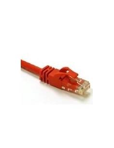 C2G 0.5m Cat6 Snagless CrossOver UTP Patch Cable verkkokaapeli Punainen 0.5 m C2g 83556 - 1