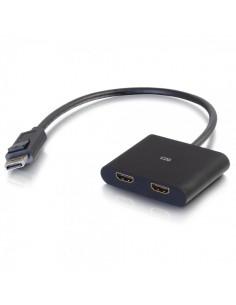 C2G 84293 cable gender changer DisplayPort 2x HDMI Svart C2g 84293 - 1