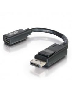 C2G 0.15m DisplayPort Male / Mini F M Musta C2g 84305 - 1