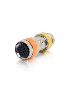 C2G 87103 cable gender changer RapidRun 15-p Orange, Silver, Gul C2g 87103 - 1
