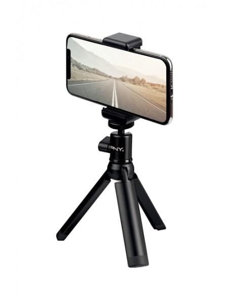 PNY P-T-BTRI001K-RB kolmijalka Älypuhelin/toimintakamera 3 jalkoja Musta Pny P-T-BTRI001K-RB - 1