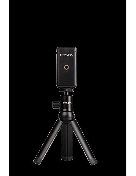 PNY P-T-BTRI001K-RB kolmijalka Älypuhelin/toimintakamera 3 jalkoja Musta Pny P-T-BTRI001K-RB - 3