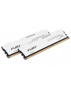 HyperX FURY White 8GB 1333MHz DDR3 muistimoduuli 2 x 4 GB Kingston HX313C9FWK2/8 - 1