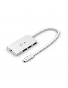 i-tec Advance C31HUB3PD gränssnittshubbar USB 3.2 Gen 2 (3.1 2) Type-C 5000 Mbit/s Vit I-tec Accessories C31HUB3PD - 1