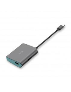 i-tec Metal C31METALHDMIHUB keskitin USB 3.2 Gen 1 (3.1 1) Type-C 5000 Mbit/s Harmaa, Turkoosi I-tec Accessories C31METALHDMIHUB