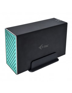 "i-tec CAMYSAFEDUAL35 tallennusaseman kotelo HDD-kotelo Musta 3.5"" I-tec Accessories CAMYSAFEDUAL35 - 1"