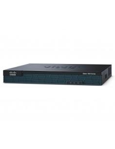 Cisco 1921 trådlös router Gigabit Ethernet 3G Svart Cisco C1921-4SHDSL-EA/K9 - 1
