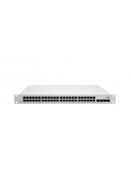 Cisco Meraki MS225-48LP Hallittu L2 Gigabit Ethernet (10/100/1000) Power over -tuki 1U Harmaa Cisco MS225-48LP-HW - 1