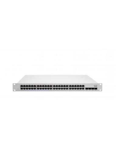 Cisco Meraki MS250-48FP hanterad L3 Gigabit Ethernet (10/100/1000) Strömförsörjning via (PoE) stöd 1U Grå Cisco MS250-48FP-HW -