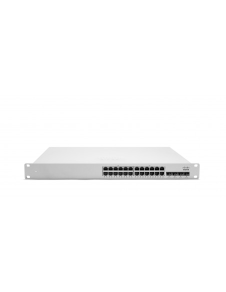 Cisco MS350-24 Hallittu L3 Gigabit Ethernet (10/100/1000) 1U Harmaa Cisco MS350-24-HW - 1