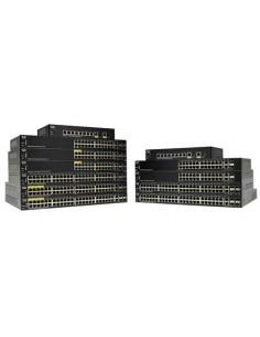 Cisco SG250-10P-K9-EU nätverksswitchar hanterad L2 Gigabit Ethernet (10/100/1000) Strömförsörjning via (PoE) stöd Svart Cisco SG