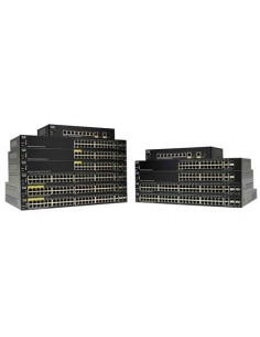 Cisco SG250-10P-K9-EU verkkokytkin Hallittu L2 Gigabit Ethernet (10/100/1000) Power over -tuki Musta Cisco SG250-10P-K9-EU - 1