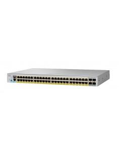 Cisco 48 port Gigabit full PoE capable Enterprise level Layer 2 Managed switch Cisco WS-C2960L-SM-48PS - 1
