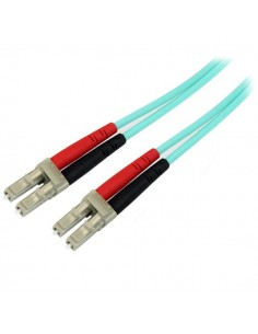 StarTech.com 450FBLCLC5 valokuitukaapeli 5 m OM4 LC Blue,Aqua colour Startech 450FBLCLC5 - 1