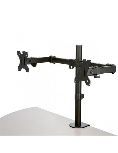 "StarTech.com ARMDUAL2 monitorin kiinnike ja jalusta 81.3 cm (32"") Puristin Musta Startech ARMDUAL2 - 1"
