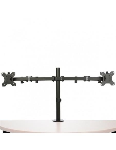 StarTech.com Skrivbordsmonterad arm för dubbelskärm - Tvärstång Ledad Stål Startech ARMDUAL2 - 4