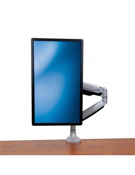"""StarTech.com ARMPIVOTHD monitorin kiinnike ja jalusta 81.3 cm (32"""") Puristin Hopea Startech ARMPIVOTHD - 8"""