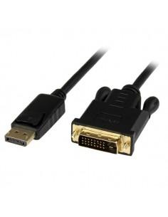 StarTech.com DP2DVIMM6BS videokaapeli-adapteri 1.8 m DisplayPort DVI-D Musta Startech DP2DVIMM6BS - 1