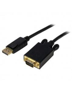 StarTech.com 3 ft DisplayPort to VGA Adapter Converter Cable – DP 1920x1200 - Black Startech DP2VGAMM3B - 1