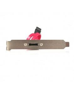 StarTech.com eSATA Cable with External Slot Plate SATA-kaapeli 0.3 m Musta Startech ESATAPLATE1 - 1