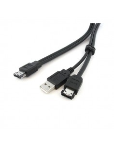 StarTech.com 3 ft eSATA / USB A -> Power Cable USB-kaapeli 0.9 m Musta Startech ESATAUSBMM3 - 1