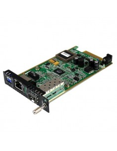 StarTech.com ET91000SFP2C mediakonverterare för nätverk Intern 1250 Mbit/s Svart, Grön Startech ET91000SFP2C - 1