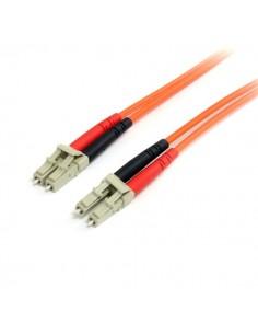StarTech.com FIBLCLC2 valokuitukaapeli 2 m LC Oranssi Startech FIBLCLC2 - 1