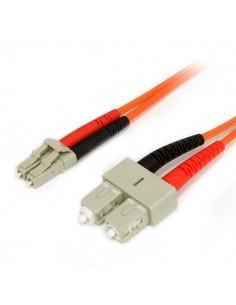 StarTech.com 3 m 62,5/125 multiläges Duplex-fiberpatchkabel LC - SC Startech FIBLCSC3 - 1
