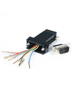 StarTech.com GC98MF cable gender changer DB-9 RJ-45 Musta Startech GC98MF - 1
