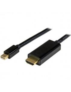 StarTech.com MDP2HDMM2MB videokaapeli-adapteri 2 m Mini DisplayPort HDMI-tyyppi A (vakio) Musta Startech MDP2HDMM2MB - 1