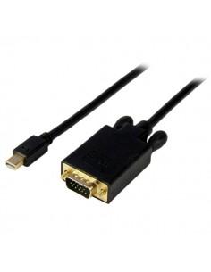 StarTech.com MDP2VGAMM15B videokaapeli-adapteri 4.6 m mini DisplayPort VGA (D-Sub) Musta Startech MDP2VGAMM15B - 1