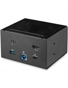 StarTech.com MOD4DOCKACPD kannettavien tietokoneiden telakka ja porttitoistin Langallinen USB 3.2 Gen 1 (3.1 1) Type-B Musta Sta
