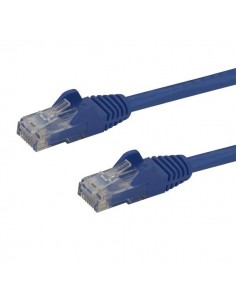 StarTech.com 7m CAT6 Ethernet Cable - Blue CAT 6 Gigabit Wire -650MHz 100W PoE RJ45 UTP Network/Patch Cord Snagless w/Strain Sta