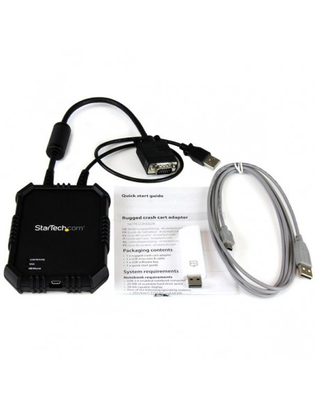 StarTech.com Laptop-to-Server KVM Console with Rugged Housing Startech NOTECONS02X - 5