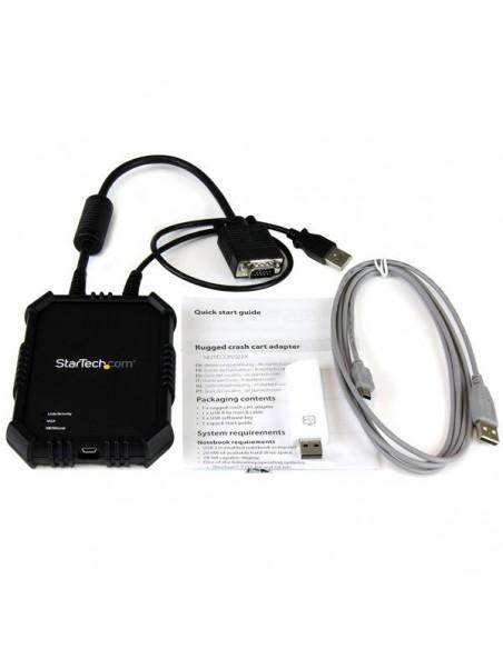 StarTech.com NOTECONS02X konsolipalvelin USB Startech NOTECONS02X - 5