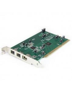 StarTech.com 2b 1a PCI 1394b FireWire-kortadapter, 3 portar, med DV redigeringssats Startech PCI1394B_3 - 1