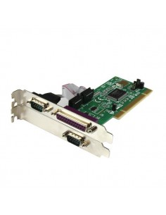 StarTech.com PCI2S1P nätverkskort/adapters Intern Parallel, Serial Startech PCI2S1P - 1