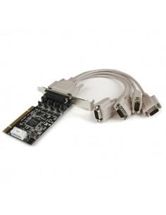 StarTech.com PCI RS232 seriell kortadapter med 4 portar och strömutgång Startech PCI4S954PW - 1