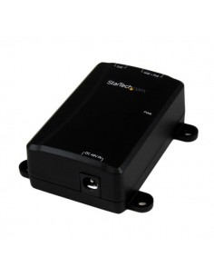StarTech.com POEINJ1GW PoE adapter Gigabit Ethernet 48 V Startech POEINJ1GW - 1