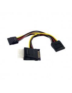 StarTech.com SATA to LP4 with 2x Power Splitter Cable Startech PYOLP42SATA - 1