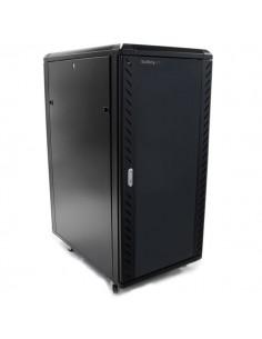 "StarTech.com 25U 36"" nedmonterbart serverskåp med hjul Startech RK2536BKF - 1"