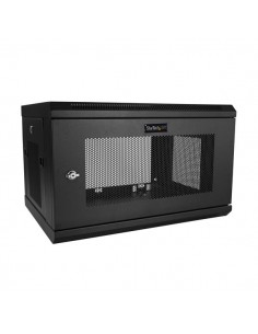 StarTech.com 6U väggmonterat serverrackskåp - upp till 16.9 tum (42,9 cm) djupt Startech RK616WALM - 1