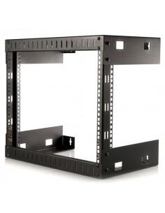 StarTech.com 8U Väggmonteringsrack med öppna ramar för utrustning – 12 tum djup Startech RK812WALLO - 1