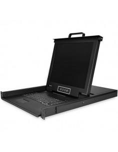 """StarTech.com 8-Port Rackmount KVM Console with 17"""" Display Startech RKCONS1708K - 1"""