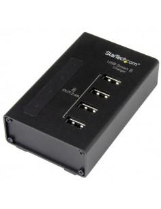 StarTech.com Laddningsstation med 4 portar för USB-enheter - 48 W/9,6 A Startech ST4CU424EU - 1