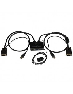 StarTech.com 2 Port USB VGA Cable - Powered with Remote Switch Startech SV211USB - 1