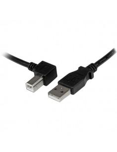 StarTech.com 1m USB 2.0 A to Left Angle B Cable - M/M Startech USBAB1ML - 1