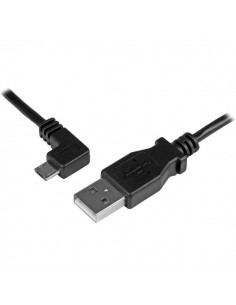 StarTech.com USBAUB1MLA USB-kaapeli 1 m USB 2.0 A Micro-USB B Musta Startech USBAUB1MLA - 1