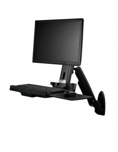 StarTech.com Wall-Mounted Sit-Stand Desk - Single Monitor Startech WALLSTS1 - 1